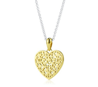 Links of London Tapestry Heart 45cm Necklace Sterling Silver - 664934