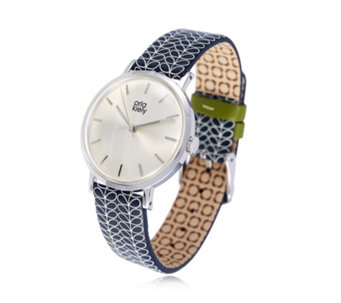 Orla Kiely Ladies Watch Patricia with Leather Strap - 664950