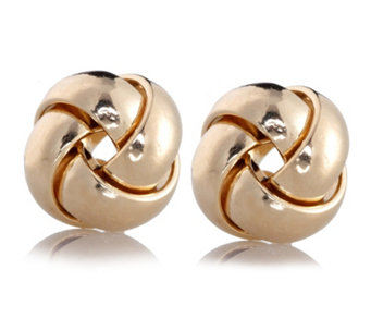 9ct Gold Knotted Stud Earrings - 600557