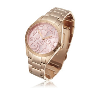Clogau Tree of Life Dial Rose Tone Watch Stainless Steel - 664957
