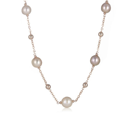 Honora 11-12mm Cultured Ming Pearl 51cm Necklace Bronze