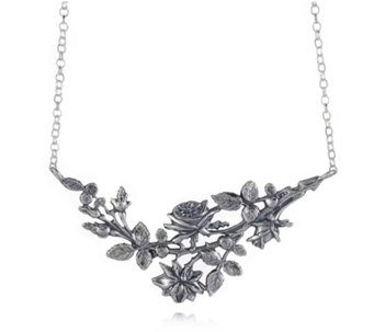 Or-Paz Blossom Garden 45cm Necklace Sterling Silver - 664069
