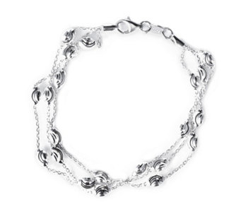 Links of London Essentials 3 Row Bracelet Sterling Silver - 664572