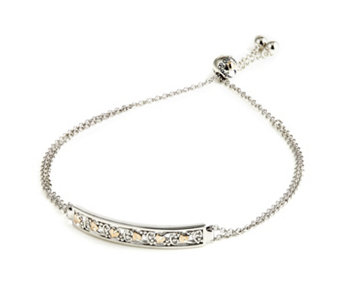 Clogau 9ct Gold & Sterling Silver Tree of Life Friendship Bracelet - 657573