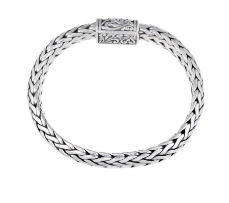 Suarti Collection Woven 20.5cm Bracelet Sterling Silver