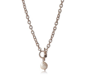Honora 14-15mm Cultured Ming Pearl 45cm Necklace Bronze - 653080