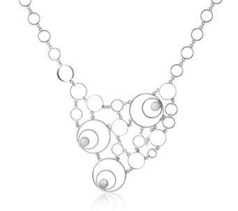 Taxco Traditions Spiral Statement 44cm Necklace Sterling Silver - 664183