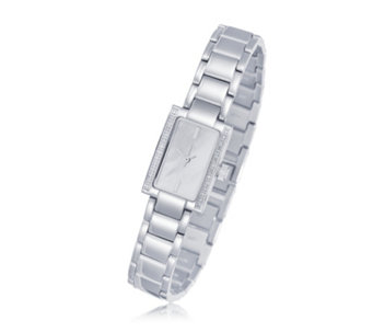 0.1ct Diamond Mother of Pearl Bracelet Watch - 698184