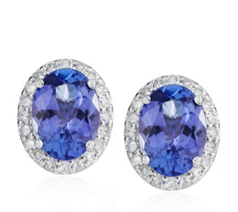 Premier Tanzanite Earrings Jewellery Qvc Uk