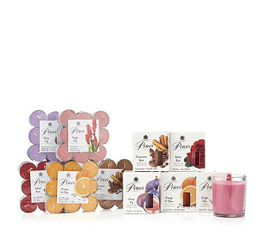 Price's Candles 5 Jar Candles & 90 Tealights Fragrance Gift Collection - 705801