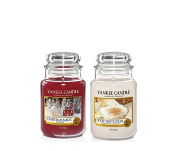 Yankee Candle The Perfect Christmas 2 Large Jars - 708002