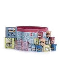 Yankee Candle 39 Piece Viva Havana Tea Light & Votive Hamper - 707103