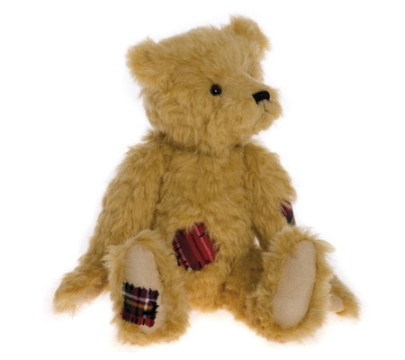 "Charlie Bears Collectable Wisdom 14.5"" Plush Bear"
