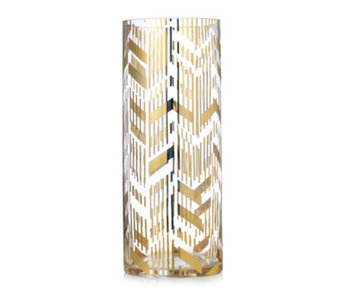JM by Julien Macdonald Deco Collection Gold Vase - 707604