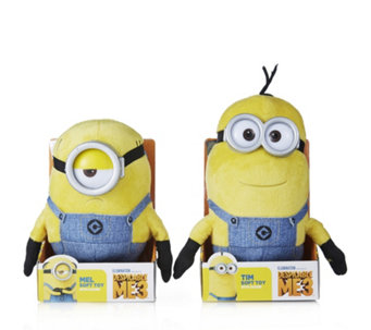 Despicable Me 3 Tim & Mel Minion Plush with Sound - 707806