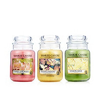 Yankee Candle 3 Large Jars Summer Time - 707107