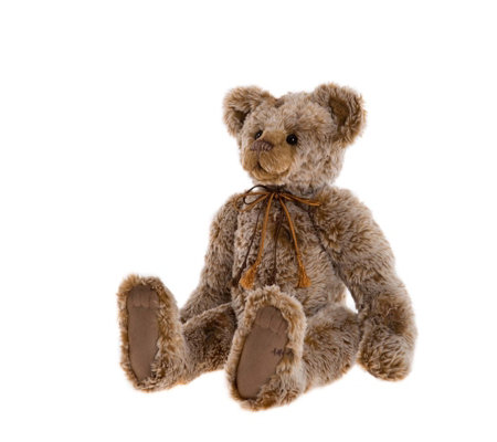 "Charlie Bears Collectable Burma 16.5"" Plush Bear"
