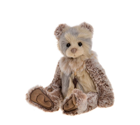 "Charlie Bears Collectable AJ 12"" Plush Bear"