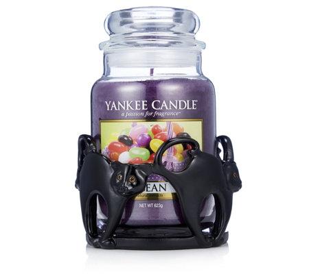 Yankee Candle Black Cat Jar Holder