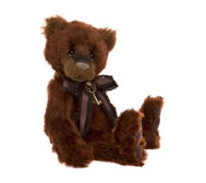 "Charlie Bears Collectable Mrs Brown 13.5""Alpaca & Mohair Bear"