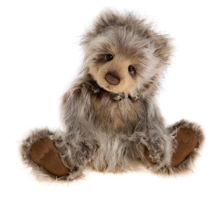 "Charlie Bears Collectable Bumble B 14"" Plush Bear"