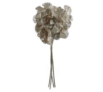 Alison Cork Set Of 4 Glitter Jewelled Gold Orchid Stems - 705719
