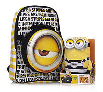 Despicable Me 3 Backpack with Detachable Bag & Jail Minion Plush Toy - 707824