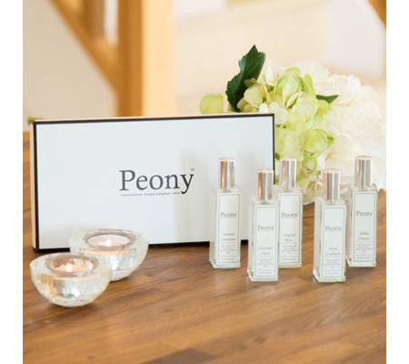 Peony Set of 5 Best Selling Fragrance Sprays