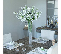 Peony Gypsophila in a Conical Vase - 707125