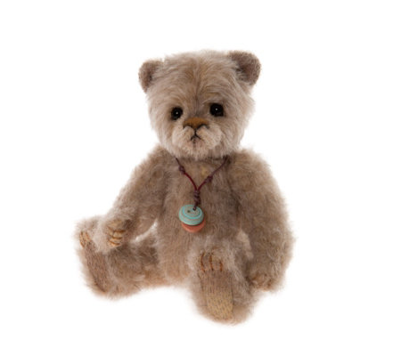 "Charlie Bears Collectable Breadcrumb 6.5"" Minimo Mohair Bear"