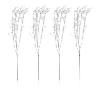 Alison Cork Set of 4 Encrusted Stems - 707330