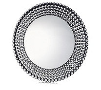 JM by Julien Macdonald Signature Circular Crystal Wall Mirror - 708031