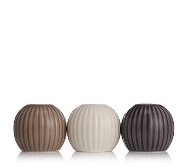 K by Kelly Hoppen Set of 3 Bud Holder Vases - 708131