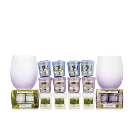 Yankee Candle 38 Piece Tranquillity Votive & Tea-Light Collection