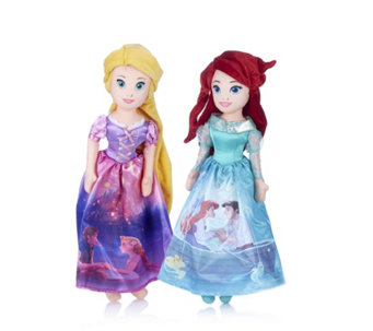 "Disney Princess Set of 2 16"" Soft Dolls - 707835"
