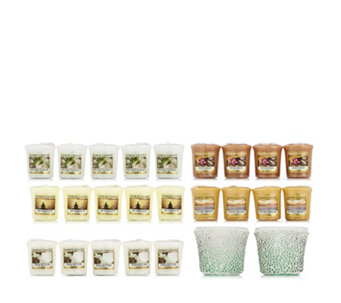 Yankee Candle 23 Piece Votive Collection w/Relax Holders - 706741
