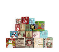 Lindy Bowman Christmas 18 Piece Try Me Assortment