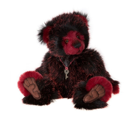 "Charlie Bears Collectable Together 17"" Plush Bear"
