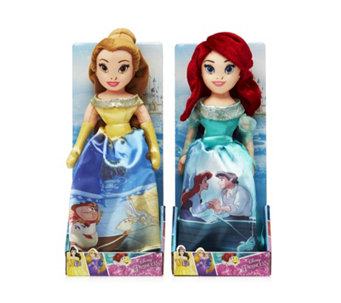 "Disney Princess Storytelling 10"" Plush Duo - 707550"