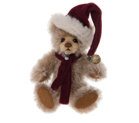 "Charlie Bears Collectable Dingle 5.5"" Mohair Keyring"