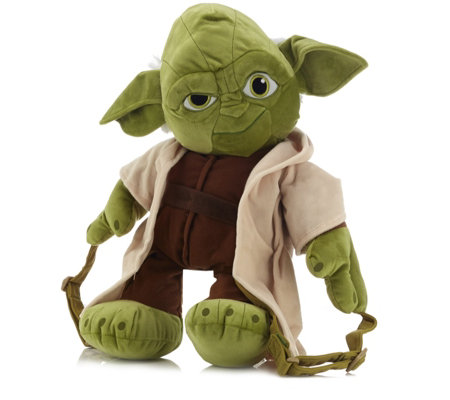 Star Wars Yoda Plush Kids Backpack