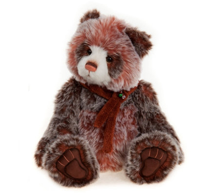 "Charlie Bear Collectable Dixie 16"" Plush Bear"
