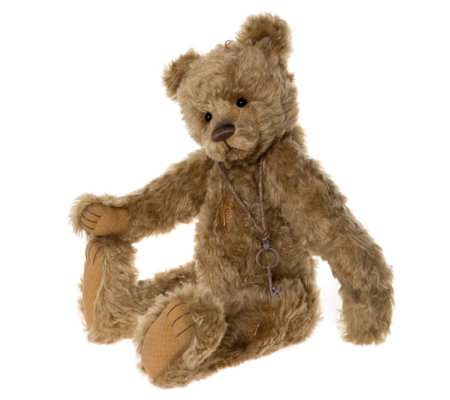 "Charlie Bears Isabelle Lee Limited Edition Dusty Paws 19"" Mohair Bear"