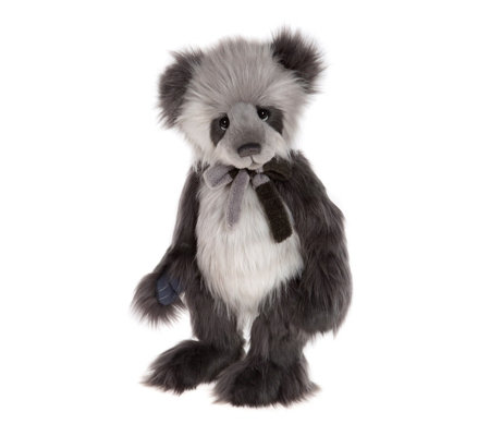 "Charlie Bears Collectable Tully 19"" Plush Bear"
