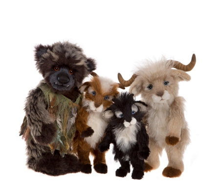 Charlie Bears Isabelle Lee Limited Edition Billy Goats & Gruff