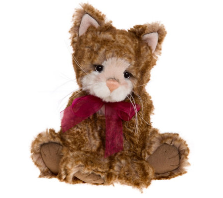 "Charlie Bears Collectable Mittens 10.5"" Plush Bear"
