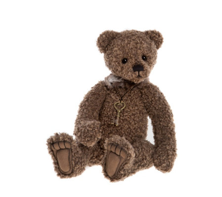 "Charlie Bears Collectable Ayla 11.5"" Plush Bear"
