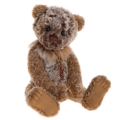 "Charlie Bears Collectable Benny 12"" Plush Bear"