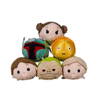 Star Wars Set of 6 Tsum Tsums Collection - 707769