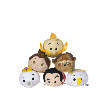 Disney Beauty and the Beast Set of 6 Tsum Tsums Collection